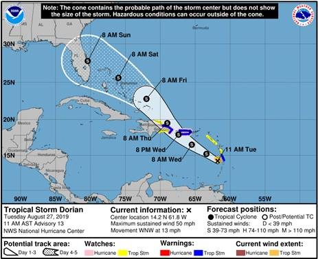 UPDATE 4 - Tropical Shipping Continues to Monitor Tropical ...